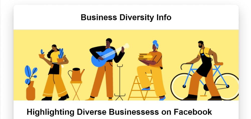 What is Facebook Diversity Info & How to Add It