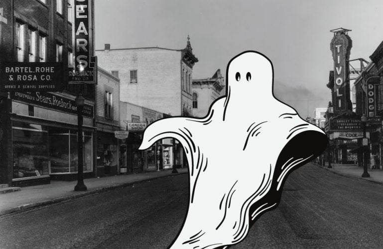ghost in downtown richmond indiana