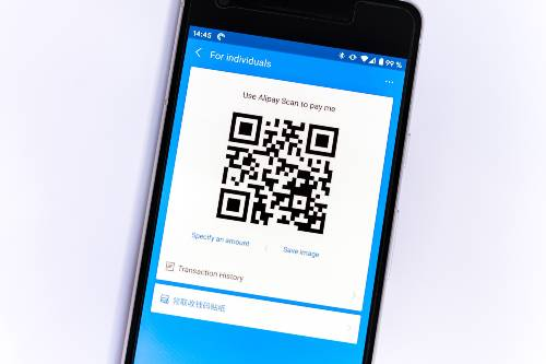 qr code to get customers to leave a review